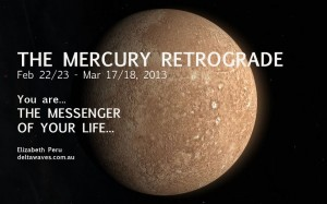 Mercury Retrograde Feb-Mar 2013