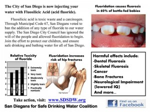 fluoride ruins health & teeth & bones