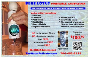 Blue Lotus portable Jan
