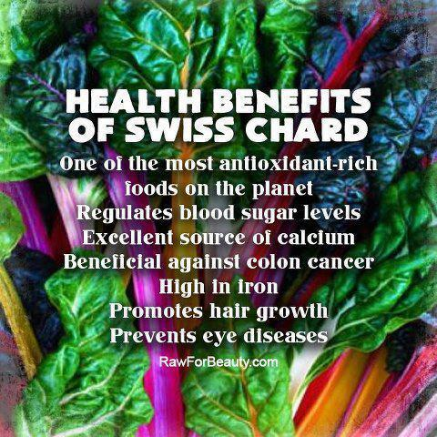 health benefits of swiss chard wellthy choices network