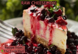 raw cheesecake