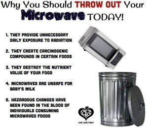 throw away your microwave today